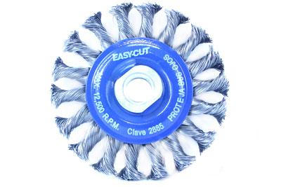 trenzar para un Cambio de Herramientas r/ápido y c/ómodo Alambre de Acero de 0,30 mm B/ürsten-/ø 60 mm 43468922 PFERD Cepillo de Olla X-Lock di/ámetro