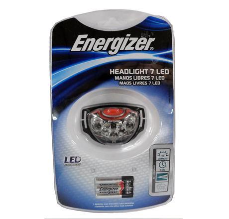09800190 LINTERNA ENERG. 7LED MANOS LIBRES HL7LEDS