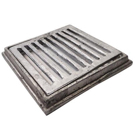 Rejilla para patio en aluminio rejilla de aluminio for Cocina 6000 euros