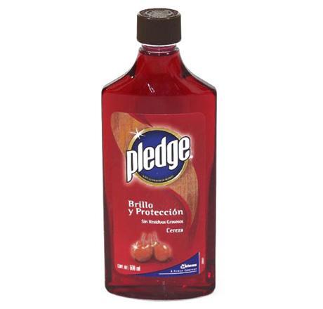 Pledge muebles aceite rojo 500ml 609136 aceite lustrador for Aceite para muebles de madera