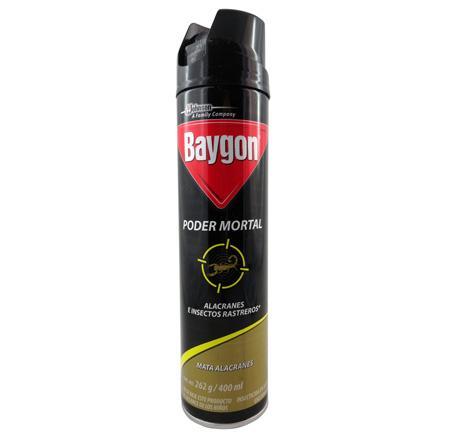 Baygon poder mortal aerosol 400ml 637713 637713 - Mata cucarachas electrico ...
