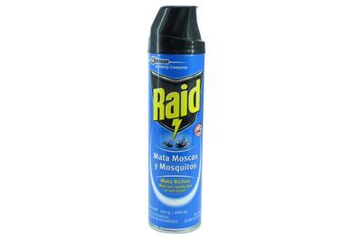 Raid mata bichos aerosol 400ml 637715 insecticidas for Raid casa y jardin