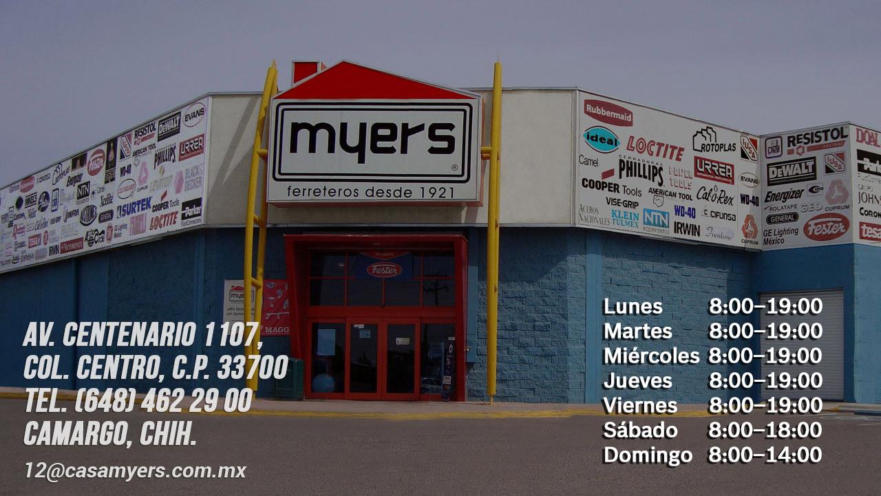 tienda casa myers cd. camargo