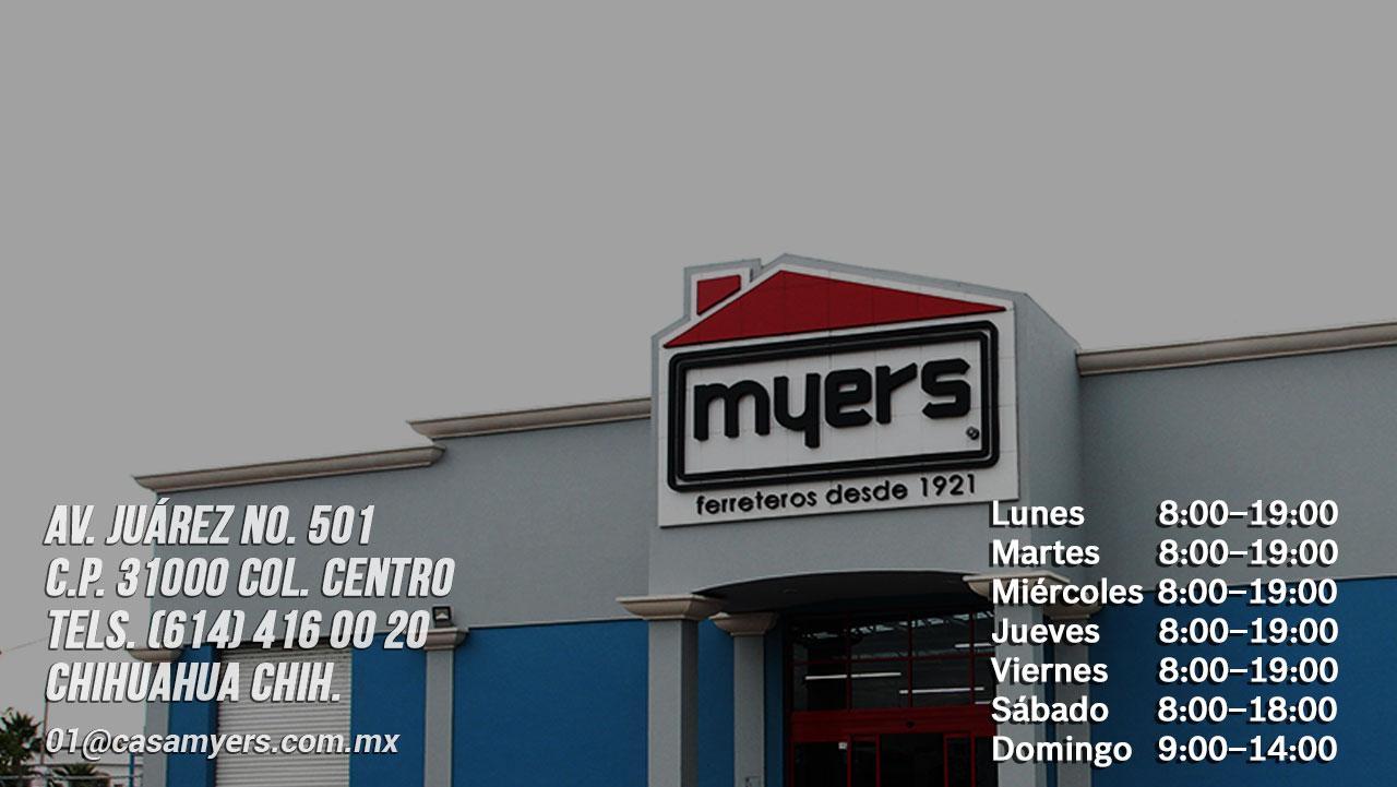 tienda casa myers centro