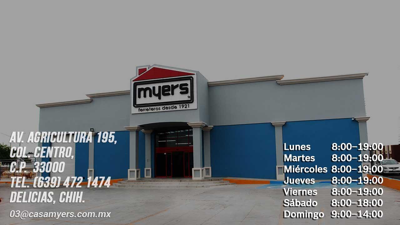 tienda casa myers cd. delicias
