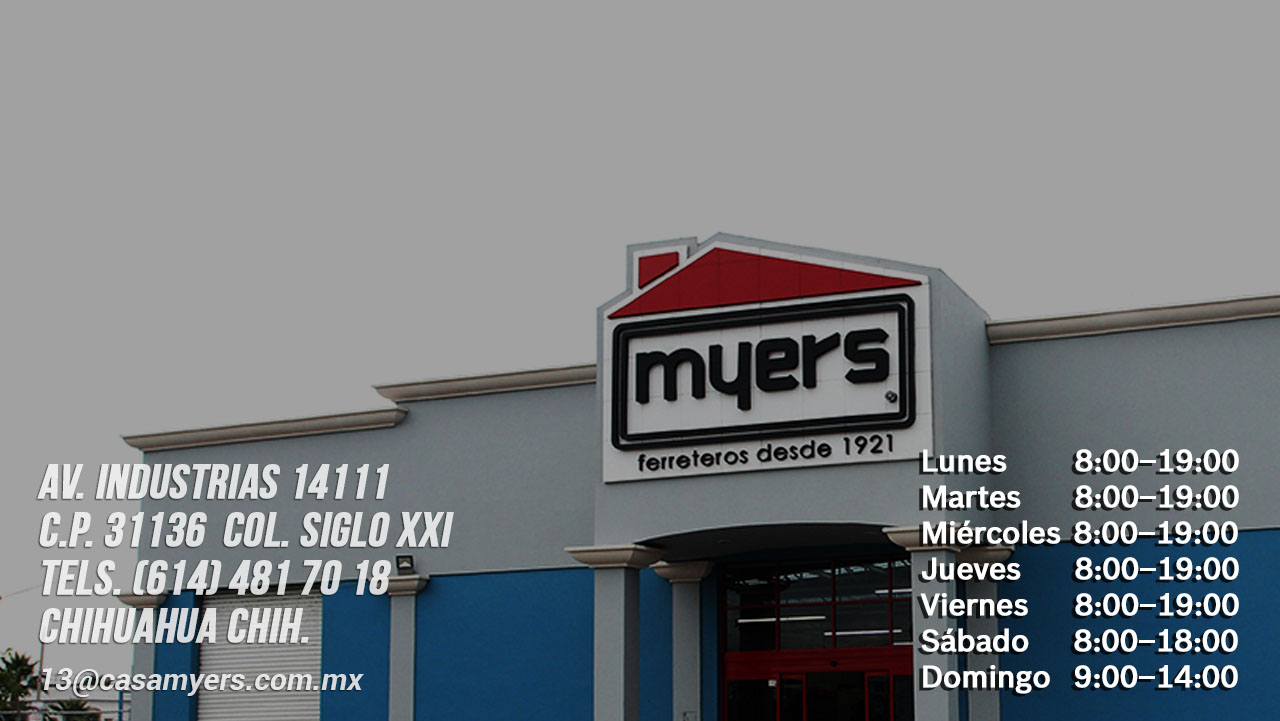 tienda casa myers industrias
